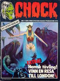 Cover Thumbnail for Chock (Semic, 1972 series) #7/1974