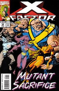 Cover for X-Factor (Marvel, 1986 series) #94 [Direct Edition]