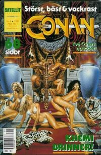 Cover Thumbnail for Conan (Semic, 1990 series) #4/1991