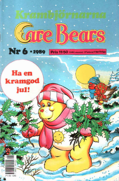 Cover for Care Bears (Semic, 1988 series) #6/1989
