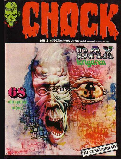 Cover for Chock (Semic, 1972 series) #2/1973