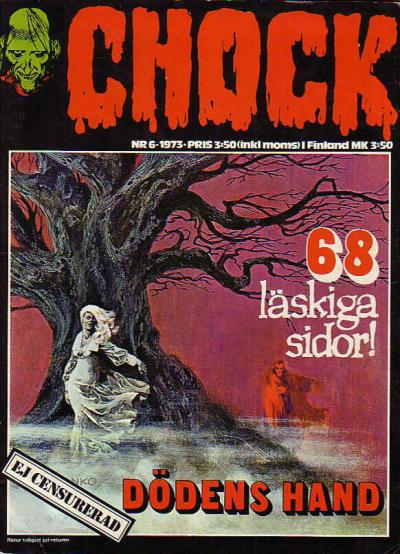 Cover for Chock (Semic, 1972 series) #6/1973