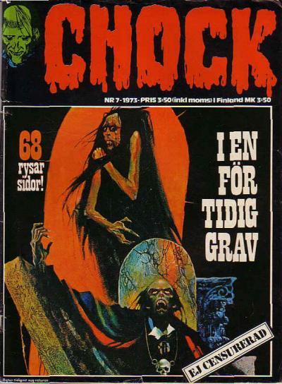 Cover for Chock (Semic, 1972 series) #7/1973