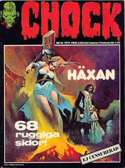 Cover for Chock (Semic, 1972 series) #10/1973