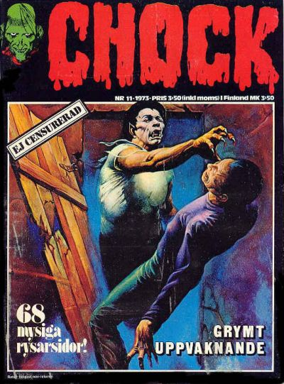 Cover for Chock (Semic, 1972 series) #11/1973