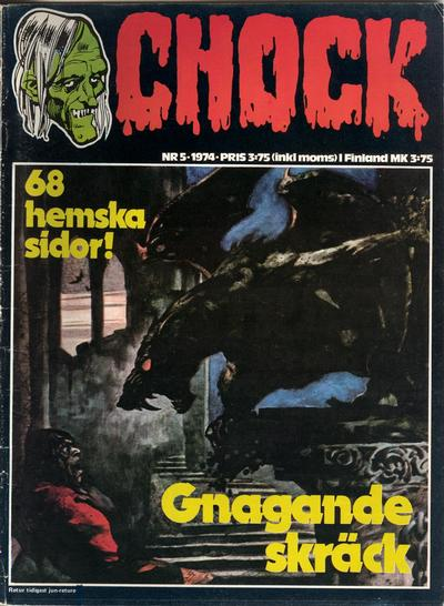 Cover for Chock (Semic, 1972 series) #5/1974