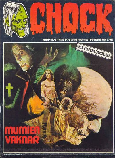 Cover for Chock (1972 series) #6/1974
