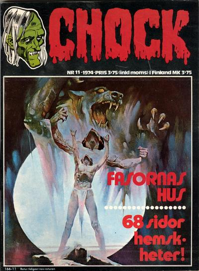 Cover for Chock (Semic, 1972 series) #11/1974