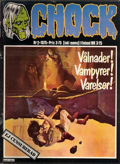 Cover for Chock (Semic, 1972 series) #2/1975