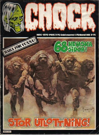 Cover for Chock (Semic, 1972 series) #6/1975