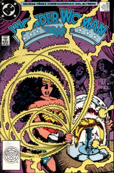 Cover for Wonder Woman (DC, 1987 series) #33