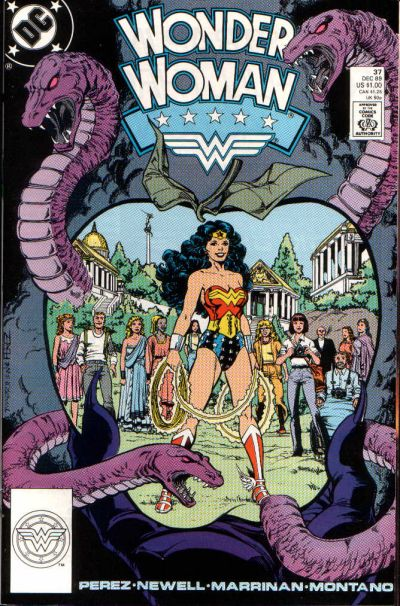 Cover for Wonder Woman (DC, 1987 series) #37