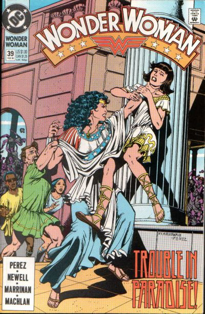 Cover for Wonder Woman (1987 series) #39