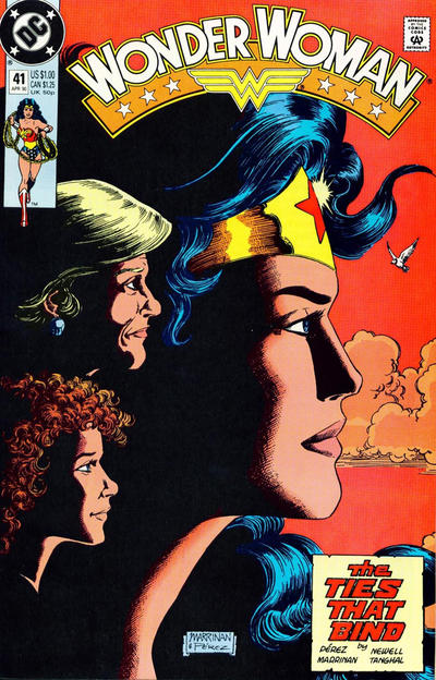 Cover for Wonder Woman (1987 series) #41