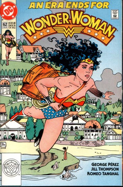 Cover for Wonder Woman (DC, 1987 series) #62