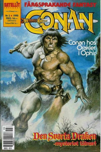 Cover for Conan (1990 series) #3/1990