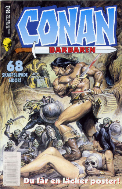 Cover for Conan (Semic, 1990 series) #7/1993