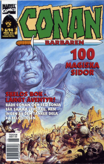 Cover for Conan (1990 series) #6/1994