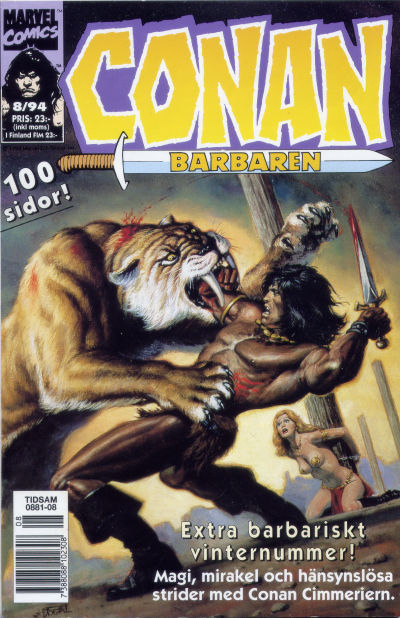 Cover for Conan (Semic, 1990 series) #8/1994