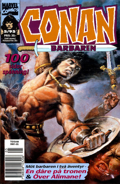 Cover for Conan (Semic, 1990 series) #5/1995