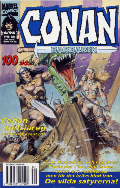 Cover for Conan (Semic, 1990 series) #6/1995