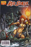 Cover Thumbnail for Red Sonja (2005 series) #46 [Cover C by Adriano Batista]