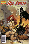 Cover Thumbnail for Red Sonja (2005 series) #10 [Pablo Marcos Cover]
