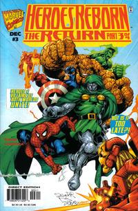Cover Thumbnail for Heroes Reborn: The Return (Marvel, 1997 series) #3 [Direct Edition]