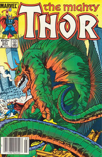 Cover Thumbnail for Thor (Marvel, 1966 series) #341 [Newsstand Edition]