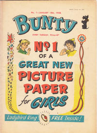 Cover Thumbnail for Bunty (D.C. Thomson, 1958 series) #1
