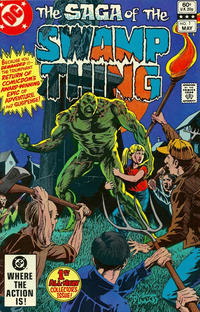 Cover Thumbnail for The Saga of Swamp Thing (DC, 1982 series) #1 [Direct]