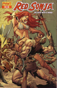 Cover Thumbnail for Red Sonja (Dynamite Entertainment, 2005 series) #31