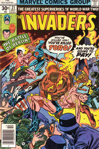 Cover Thumbnail for The Invaders (Marvel, 1975 series) #21