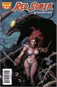 Cover Thumbnail for Red Sonja (Dynamite Entertainment, 2005 series) #9 [Billy Tan Cover]