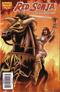 Cover Thumbnail for Red Sonja (Dynamite Entertainment, 2005 series) #39 [Cover A]