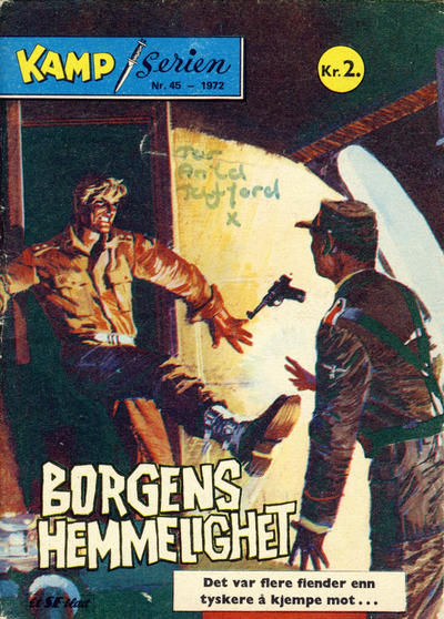 Cover for Kamp-serien (Se-Bladene, 1964 series) #45/1972