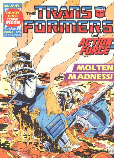 Cover for Transformers (Marvel UK, 1984 series) #160