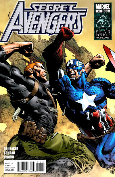 Cover for Secret Avengers (Marvel, 2010 series) #11 [Captain America 70th Anniversary Variant Cover]