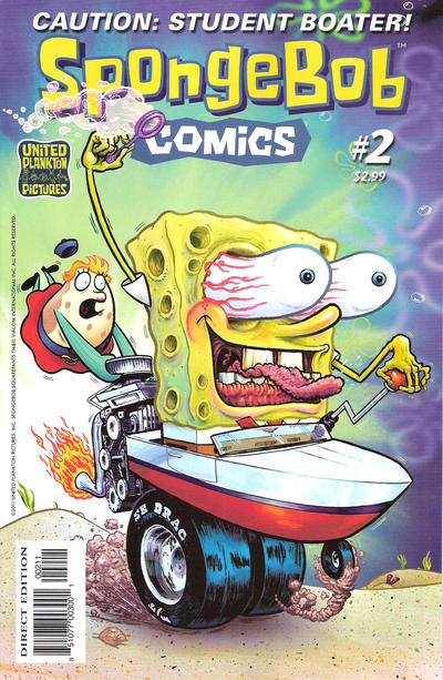 Cover for SpongeBob Comics (United Plankton Pictures, Inc., 2011 series) #2