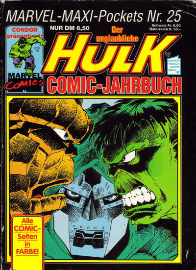 Cover for Marvel-Maxi-Pockets (Condor, 1980 series) #25