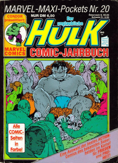 Cover for Marvel-Maxi-Pockets (Condor, 1980 series) #20