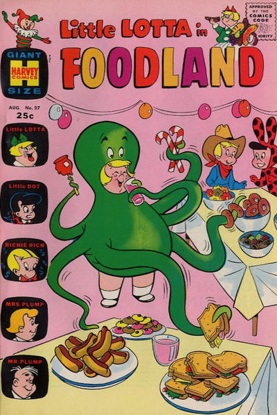 Cover for Little Lotta Foodland (Harvey, 1963 series) #27