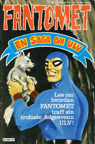 Cover for Fantomet (Semic, 1976 series) #6/1980