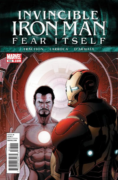 Cover for Invincible Iron Man (2008 series) #503 [Second Printing]