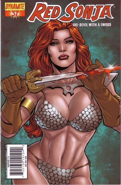 Cover for Red Sonja (2005 series) #37 [Cover A]