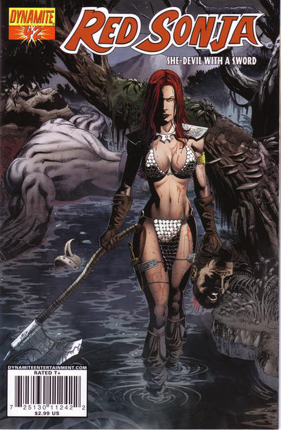 Cover for Red Sonja (2005 series) #42