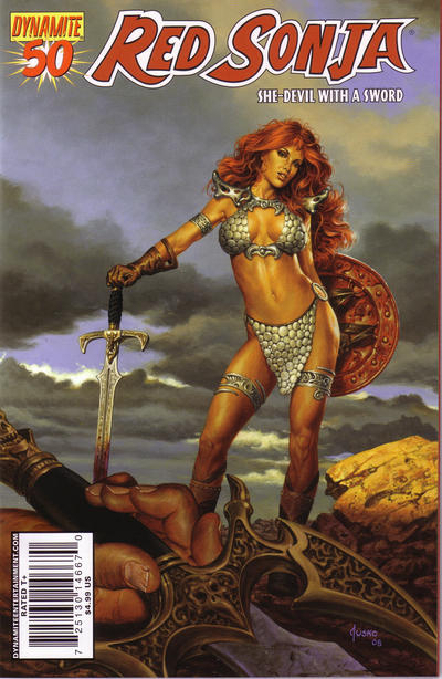 Cover for Red Sonja (2005 series) #50