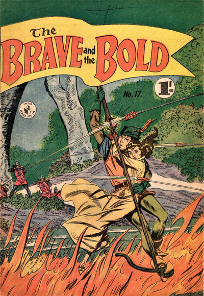 Cover for The Brave and the Bold (K. G. Murray, 1956 series) #17