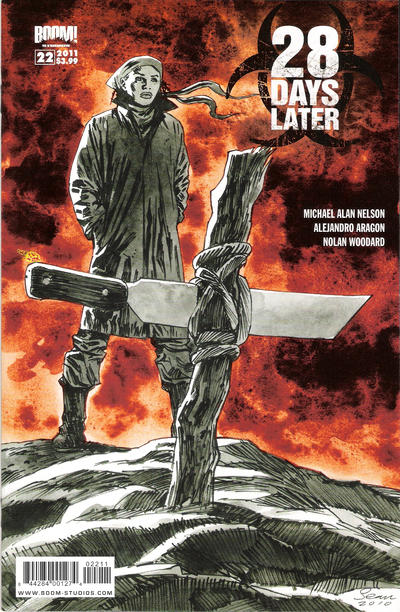 Cover for 28 Days Later (Boom! Studios, 2009 series) #22