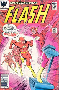 Cover Thumbnail for The Flash (DC, 1959 series) #283 [Whitman cover]